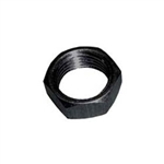 "1/4"" Aluminum Jam Nut.  Right Hand..  Black."