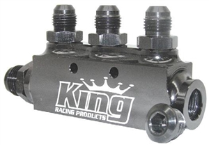 King Racing Products Fuel Block