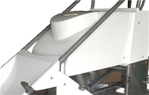 Triple X Midget Hood Inside the Rail
