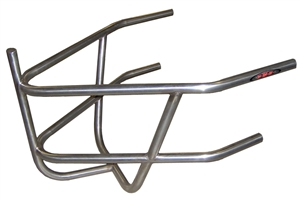 XXX Sprint Car Rear Bumper With Basket. Stainless Steel. Polished.