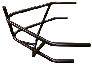 XXX Sprint Car Rear Bumper With Basket. 4130. Black.