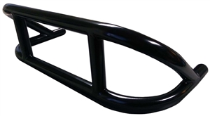 XXX Sprint Car Front Bumper. Double height (stacked) with supports.  4130. Black.