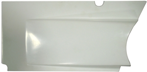 XXX Sprint Car Upper Kick Panel (Horizontal Split Design).  Left.