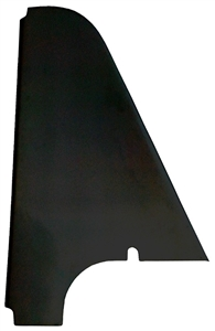"XXX Sprint Car Left Arm Guard. For Non-Safety Cage Chassis. 2"" Tall. Black."