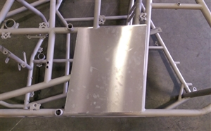 Sprint Car Left Rear Enclosure Panel