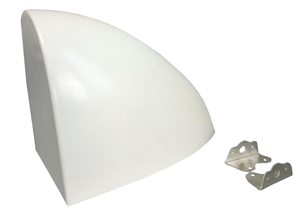XXX Sprint Car Aero Fuel Tank Cover. White.