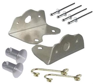 Aero Fuel Tank Cover Brackets and Hardware