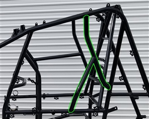 XXX Sprint Car 2019 Left Side Safety Bar