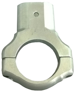 XXX Sprint Car Aero Nose Wing Clamp.  Aluminum (Sold Individually)