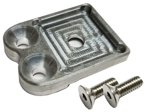 Top Steering Gear Mount Fuel Shutoff Bracket (Waterman)