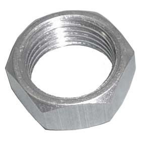 "5/8"" Jam Nut. Right Hand Thread. Aluminum."