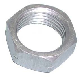 "5/8"" Jam Nut. Left Hand Thread. Aluminum."