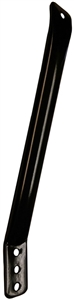 XXX Sprint Car Nose Wing Aero Rear Strap. Shock Tower to Side Board. Black (Sold Individually)