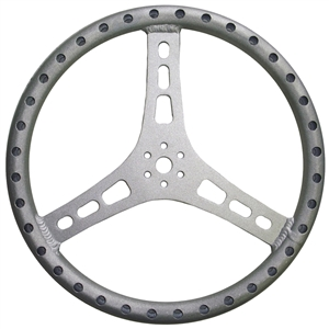 "XXX Steering Wheel.  15"" Wide.  1 1/8"" Tube.  Lightweight Aluminum."