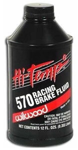 Wilwood 570 Brake Fluid 12 oz Bottle