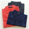 Bugatchi mens fancy mercerized cotton polo shirt