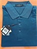 Bugatchi mens mercerized Egyptian cotton polo shirt sapphire blue