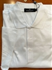 Bugatchi men's cotton polo shirt - white,short sleeve, 2XL