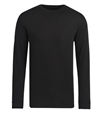 Bugatchi Uomo mens ribbed 1643k12 crew neck long sleeve