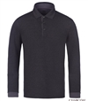 Bugatchi Long Sleeve Cotton Polo sweatshirt
