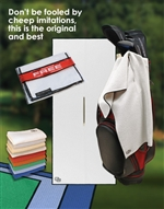 Microfiber Pro Tour Caddy Golf Towel