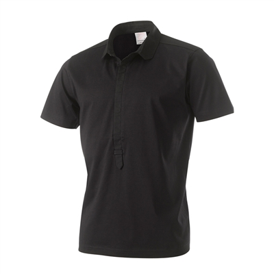 Ian Poulter Chiseled Collar Shirt black medium