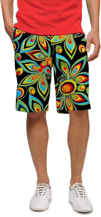 LoudMouth Golf Shagadelic Black mens pants