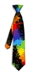 Paint Balls black Silk Tie LoudMouth Golf
