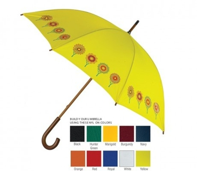 made in usa fashion umbrella custom promotional umbrella