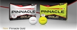 Pinnacle Gold  golf balls personalized