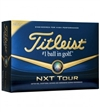 2013 Titleist NXT Tour golf balls personalized