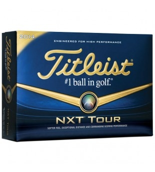 Titleist NXT Tour S golf balls personalized