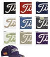 Custom Titleist contrast stitch hat