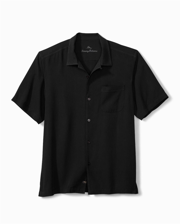Custom Logo Tommy Bahama Mens Catalina Camp Shirt