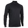 mens long sleeve mock neck shirt by Zero Restriction