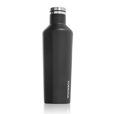 black custom logo canteen corkcicle