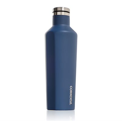 canteen corkcicle matte blue steel
