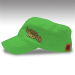 Lime Green Loudmouth Golf Painters hat