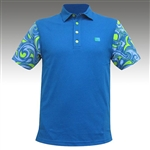loudmouth splash golf shirtmoisture wicking