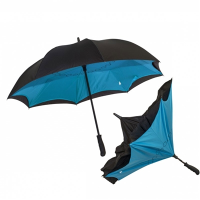 inverted promotional umbrella