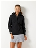 ladies waterproof golf jacket Zero Restriction hooded shelby packable Jacket