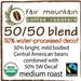 50/50 Swiss Water Process Decaf Blend - 16 oz - Fair Trade Organic