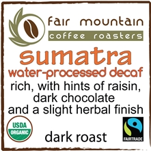 Organic Swiss-Water Decaf