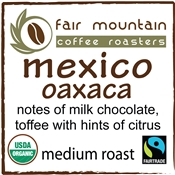 Mexico Oaxaca - Fair Trade Organic
