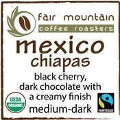 Mexico Chiapas - Fair Trade Organic