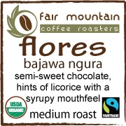 Flores Bajawa Ngura - 16 oz - Fair Trade Organic Rainforest Alliance