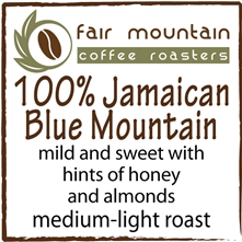 100% Jamaican Blue Mountain - 8 oz.