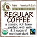 Regular Coffee Blend - Fair Trade Organic