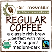Regular Coffee Blend - 16 oz - Fair Trade Organic