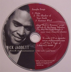 Back To Romance Sampler CD